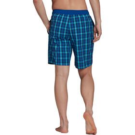 adidas Check Classics CL Shorts Men, blauw/turquoise